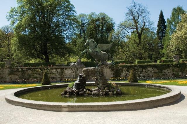 Pegasusbrunnen im Mirabellgarten